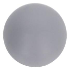 Opry Siliconen kralen 5 stuks 15mm kleur 004 Grijs