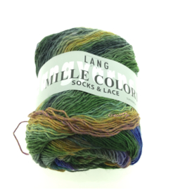 Lang Yarns Mille Color socks & lace 97