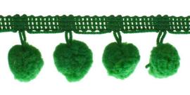 Pompom band Groen