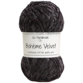 Go Handmade Bohème Velvet Fine - Black - 17607