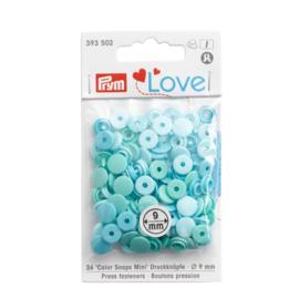 Color snaps -  Prym Love color MINI rond 9mm blauwgroen