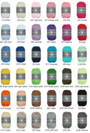 Alle 36 kleurtjes Durable Coral mini