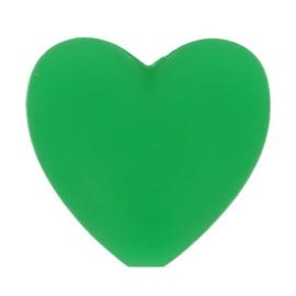 Opry siliconen kralen hartjes 5 stuks kleur 433