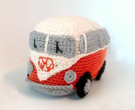 Haakpakket VW Busje Rood