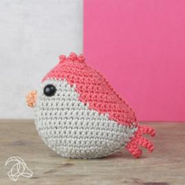 Hardicraft Haakpakket Vogeltje Rood