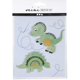 Dino set creatief pakketje