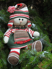 XXL Funny kledingset Christmas classic girl