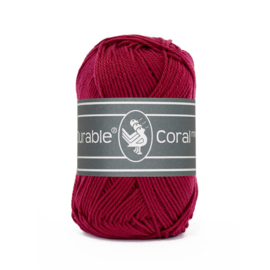 Durable Coral mini 222 Bordeaux