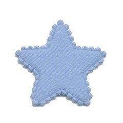 Ster Vilt  Blauw 3,5 x 3,5 cm