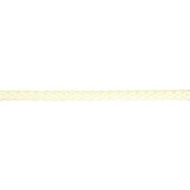 Gevlochten koord 10mm ecru