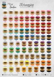 Alle 87 kleurtjes Scheepjes Maxi Sweet Treat (Bonbon)