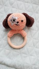 Hondje puk gemaakt door: Ebbelina de Zeeuw Dubbelaar