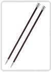 KnitPro Zing breinaald 6,00 mm met knop 40cm