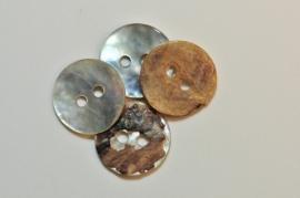 Parelmoer knoop 11 / 12 mm