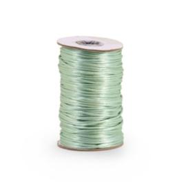 Satijnkoord 2 mm Mint