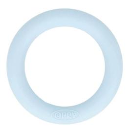 Opry siliconen bijtring 65mm kleur 258 Lichtblauw