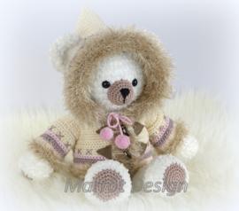 Eskimobeer Silla garens en fourniturenpakket  patroon apart bestellen