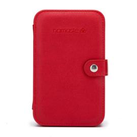 Namaste Buddy Case groot  18 x 11,5 x 5,5cm  red