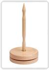 KnitPro Natural houten garen draaischijf