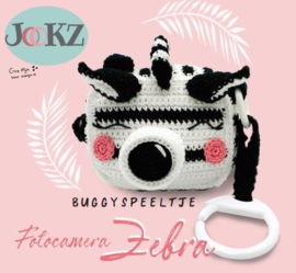 Buggyspeeltje/ Fotocamera Zebra