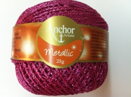 Anchor Artiste metallic Fuchsia nr 308