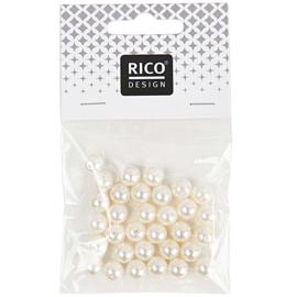 Rico parelkralen acryl parelnatuur - 8mm