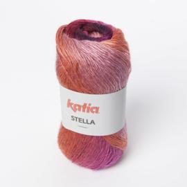 Katia Stella 73 Lila-Oranje-Fuchsia