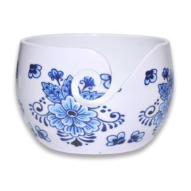 Durable aluminium Yarn Bowl Dutch Blue