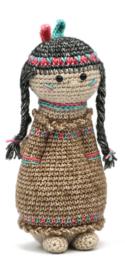 Geefbeestje Indianenmeisje