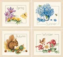Telpakket kit De vier seizoenen