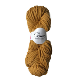 byClaire Chunky Cotton 010 Ocher