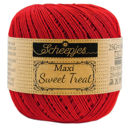 Scheepjes Maxi Sweet Treat (Bonbon) 722 Red