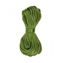 Kumihimo Satijnkoord 2mm Groen
