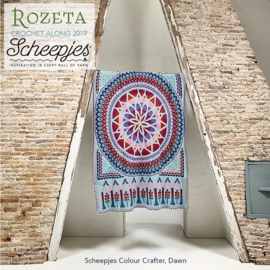 Scheepjes CAL2019 Rozeta Colour Crafter - Dawn pre-order week 47