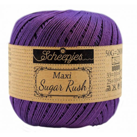 Scheepjes Maxi Sugar Rush 521 Deep Violet