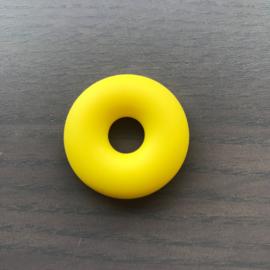 Siliconen Donut Geel