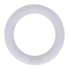 Opry siliconen bijtring  55mm kleur 006 Lichtgrijs