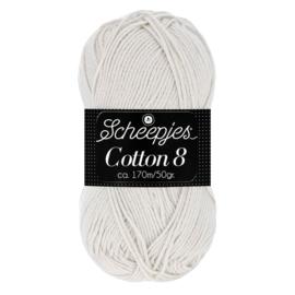 Cotton 8 Scheepjes 700 Linnengrijs