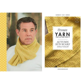 Yarn, the after party Autumn Sun Scarf nr 87 (kooppatroon)