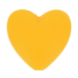 Opry siliconen kralen hartjes 5 stuks kleur 645