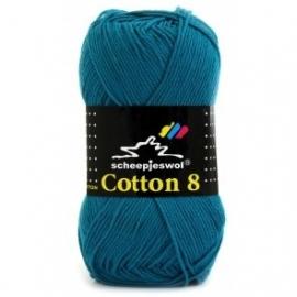 Cotton 8 Scheepjes 724 Petrol