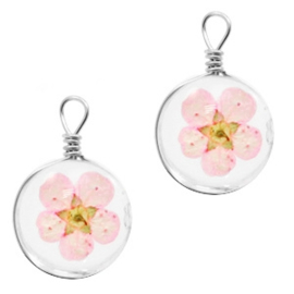 Bedel gedroogde bloempje Light Pink