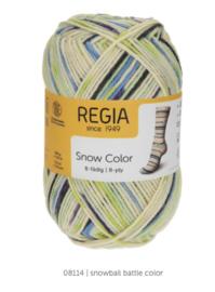 Regia 8ply snow color 8114