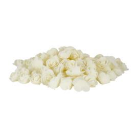 Foam roosje Off-White 5 stuks