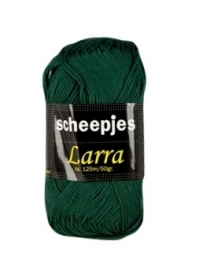 Scheepjeswol Larra 7409 Donkergroen