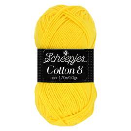 Cotton 8 Scheepjes 551 Geel