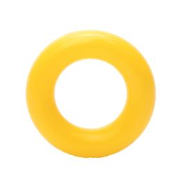 Plastic Ringetje 25 mm Geel