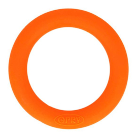 Opry siliconen bijtring  55mm kleur 693 Oranje