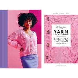 Yarn, the after party Sweet Pea Cardigan nr 124 (kooppatroon)