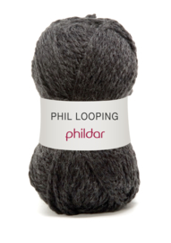 Phildar Phil Looping 0012 Carbone